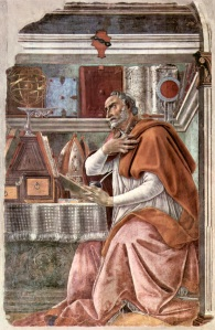 St Augustine in his Study, by Sandro Botticelli